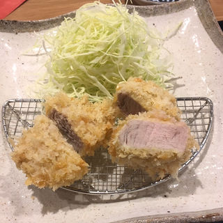 ランチヒレカツ定食(とんかつ わか葉)