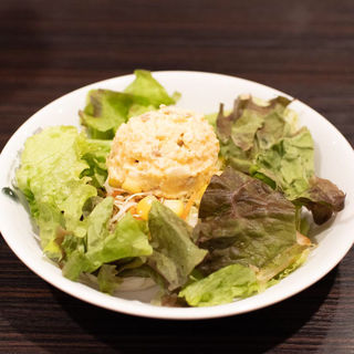てりチキタマゴサラダ(カレーハウスCoCo壱番屋 姫路グランフェスタ店 )