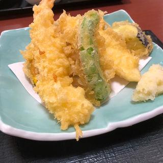 天刺し定食(天ぷら)(さんぞくや 東福岡店)