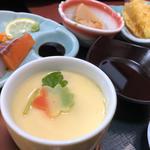 天刺し定食(茶碗蒸し)
