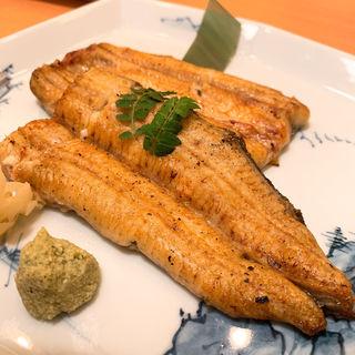 鰻 白焼き