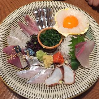 刺身8種盛合せ(赤坂有薫 (アカサカユウクン))