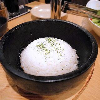 石焼ガーリックライス(土穂)