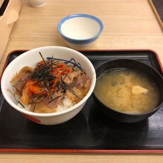 キムカル丼(松屋 祖師谷大蔵3丁目店)