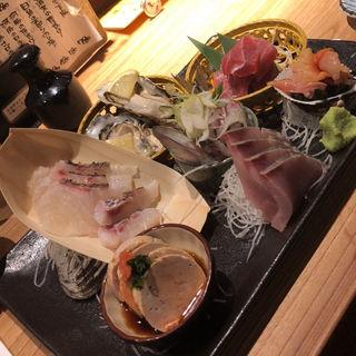 刺身5点盛り(新橋魚金 歌舞伎町 弐 )