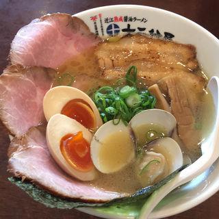 【特製】鶏とハマグリのラーメン