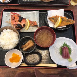 金目鯛塩焼き定食(めしや 大磯港)
