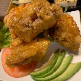 鶏唐揚げ(ハチミツボタン )