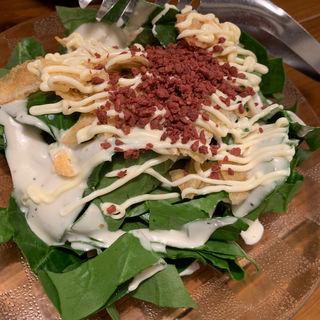 ポパイサラダ(鍋割烹博多奥堂)