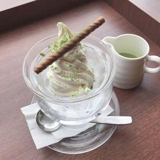 抹茶アフォガード