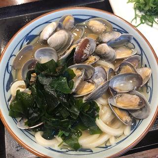 あさりうどん(大)(丸亀製麺 新宿NSビル店 )