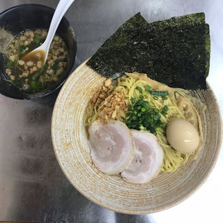 白子まぜそば スープ付(覆麺 智 (ふくめん とも【旧店名】覆麺))