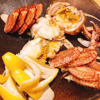 茹で蟹(天金 本店)