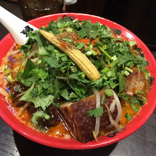 特製カラシビ味噌らー麺(カラシビ味噌らー麺 鬼金棒 (キカンボウ))