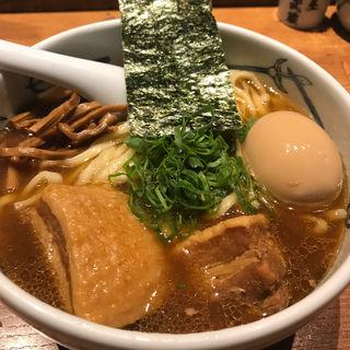 角煮ら〜麺(麺屋武蔵 新宿本店 (めんやむさし))
