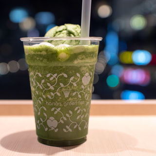 抹茶白玉フローズン(ナナズ・グリーンティー piole姫路店 (nana's green tea))