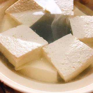 湯豆腐(奥丹 清水店 (そうほんけゆどうふ おくたん))