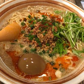 坦々麺(自家製麺 大器)