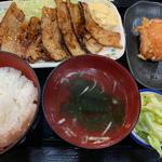元祖豚バラ焼き定食(和風らーめん海人 (かいと))