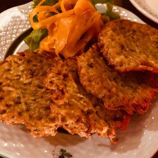 ブランボラチキー(チェコのジャガイモのお好み焼き)