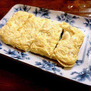 出汁巻玉子(立吞み処 ぎをんのえりぃ)