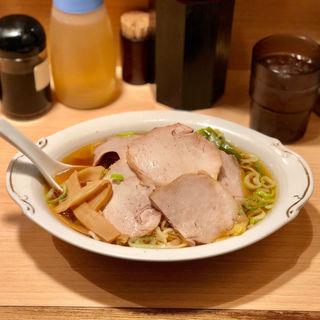 チャーシュー麺(ラーメン田丸)