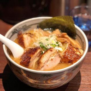 焼豚麺(麺屋武蔵 神山 (カンザン))