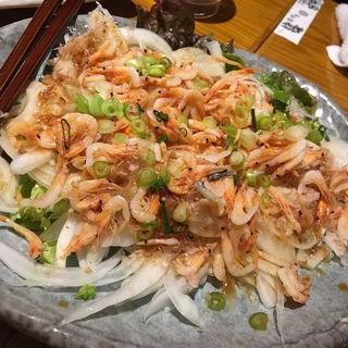 桜エビと玉ねぎのサラダ(つまみ菜 茅場町店 (ツマミナ))
