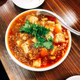 麻婆豆腐(大衆食堂スタンド そのだ )