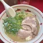 長浜ラーメン(長浜屋台 やまちゃん 銀座店)