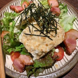 ベーコン野菜サラダ(博多ほてい屋祇園店)