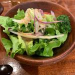 野菜サラダ(おかゆと麺のお店 粥餐庁 KITTE博多店)