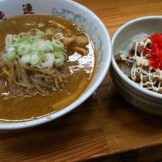 味噌ラーメン(さっぽろ純連 東京店)