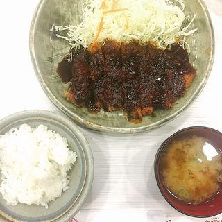 ロースかつ定食(矢場とん 名古屋駅エスカ店 (やばとん))