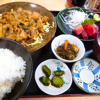 スタミナ焼きマグロ付き(定食 卓味 )