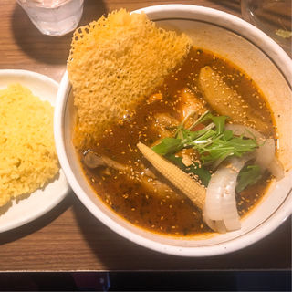 特選チキンカリー トマトスープ(札幌ドミニカ 銀座店 (DOMINICA))