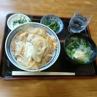 カツ丼(巴屋 そば店 (ともえやそばてん))