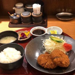 ミンチカツ定食(孫兵衞)