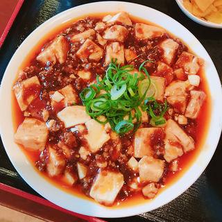 麻婆豆腐チャーハン(スープ・漬物・デザート付)(玉華園 )