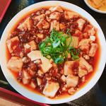 麻婆豆腐チャーハン(スープ・漬物・デザート付)
