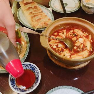 麻婆豆腐(中国料理 福星楼 (ふくせいろう))