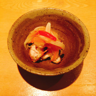鶏のマリネ(焼鳥 茜 )