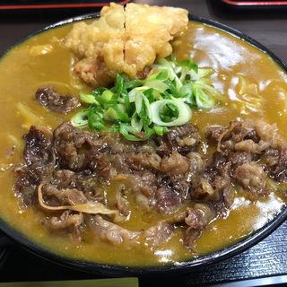 肉カレーうどん(極楽うどん Ah-麺)