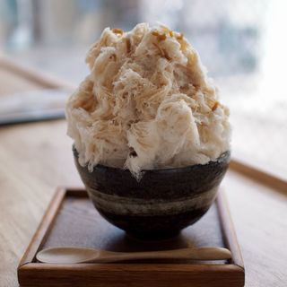 ジンジャーみるく氷(おちゃのこ (御茶乃子))