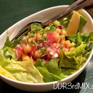 ひよこ豆と玉ねぎのサラダ(カイバル)