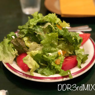 タンドール前菜セット グリーンサラダ(カイバル)
