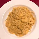 エビクリームパスタ(イタリア食堂 ブラーボ (イタリアショクドウ・ブラーボ))
