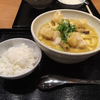 揚げもちカレーうどん(カレーうどん 千吉 新木場店 (せんきち))