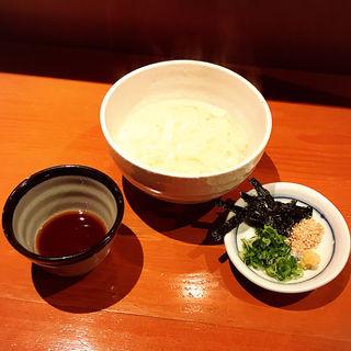 稲庭うどん(湯だめ)(居酒屋あふ )