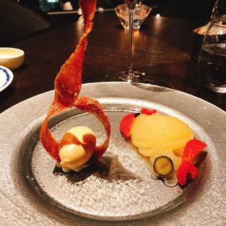 デザート(Dining&Bar TABLE9TOKYO)